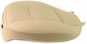 Universal Beige Pu Leather Car Cover Seat Deluxe Protector Cushion Front Cover