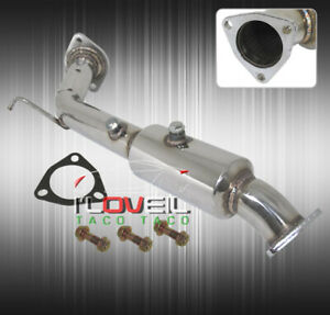 For 02 06 Acura Rsx Type S Dc5 Resonator Racing Downpipe 2 25 Upgrade Stainless