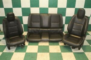 10 15 Camaro Ss Coupe Dual Power Heated Front Bucket Seats Backseat Cushions Oem