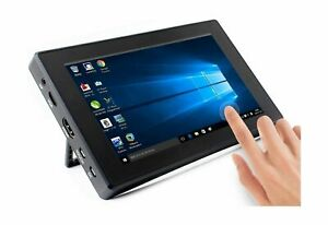 7inch Hdmi Lcd h with Case Capacitive Touch Screen 1024x600 Ips Display M