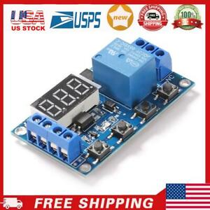 Dc 6 30v 1 Way Automation Cycle Delay Timer Control Off Switch Relay Module Us