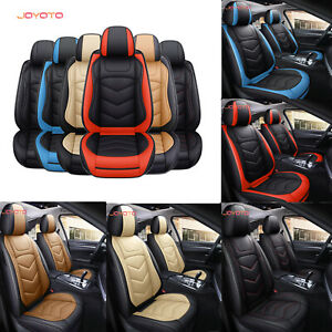 Full Set Car Seat Covers Front Rear Seats 5 Seats Cushion Protector Universal