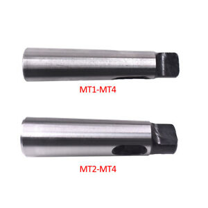New Mt4 mt1 Mt4 mt2 Arbor Morse Taper Adapter Reducing Drill Sleeve For Lathe