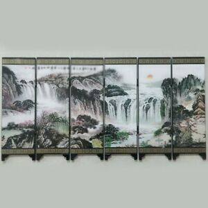 Chinese Freestanding Room Divider Wall Partition Bedroom Decor Privacy Screen