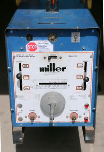 Miller 250 Ac dc Hf For Parts Repair Or Salvage