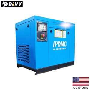7 5kw 10hp 3 Phase Rotary Screw Air Compressor 3 Phase Spin on Oil Separator