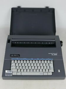 Smith Corona Sl 600 Spell Right Dictionary Electric Portable Typewriter Tested