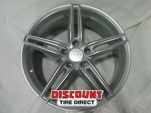 1 Used 19x8 5 120 38 Offset Drag Dr 73 Silver Full Painted Wheel 59833
