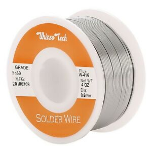 60 40 Tin Rosin Core Solder Wire Electrical Soldering Sn60 Flux 031 0 8mm 100g