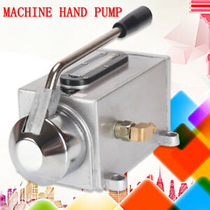 500cc Machine Hand Pump Manual Lubricating Oil Lubrication Oiler For Cutting