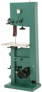 Grizzly Industrial G0640x 17 2 Hp Metal wood Bandsaw W inverter Motor