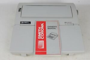 Smith Corona Dx3500 Spell Right Dictionary Electric Portable Typewriter Tested