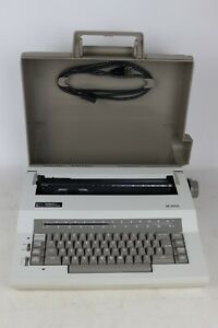 Smith Corona Xe 5000 Electric Portable Typewriter W Cover Tested working