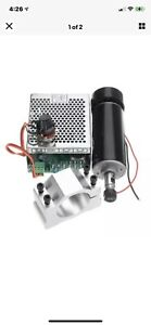 Machifit Er11 Chuck Cnc 500w Spindle Motor With 52mm Clamps And Power Supply