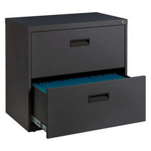 Space Solutions 20228 Flat File Cabinet charcoal powder Coated