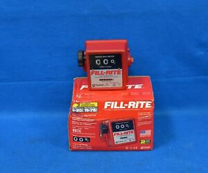 Fill rite 807c 5 To 20 Gpm Mechanical Flow Meter