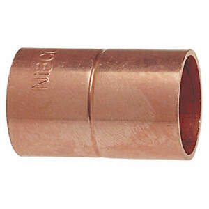 Nibco 600rs 1 2 Coupling With Stop wrot Copper 1 2 cxc