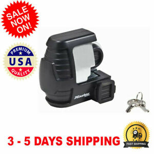 Trailer Hitch Lock Coupler Tongue Anti Theft Security Travel For Vehicles Rv