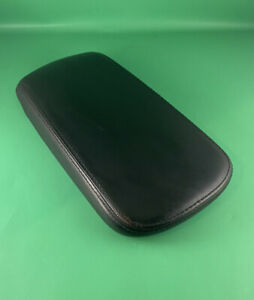 11 14 Chrysler 200 Center Floor Console Arm Rest Black Leather Cover Only