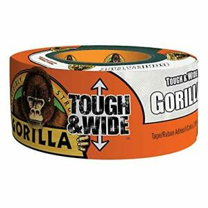 Gorilla White Tough Wide Duct Tape 2 88 X 25 Yd White Pack Of 1