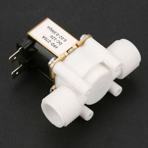 1 2 12vdc Electric Solenoid Valve Normally Closed N c 12 volt Dc Water Us