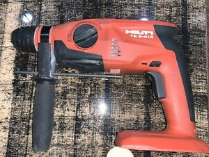 Used Hilti Te 2 a18 Li ion 1 2 Cordless Rotary Hammer Drill In Good Condition