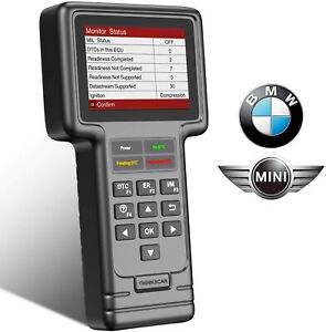 For Bmw Mini Abs Srs Dpf Full System Diagnostic Scanner Code Reader Reset Tool