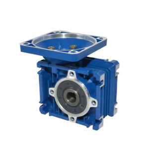 Worm Gear Reducers Gearbox Nmrv 030 Speed Reduction Right Angle Ratios 5 To 80