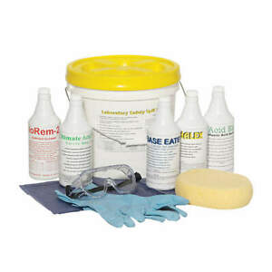 Grainger Approved 3wmw2 Laboratory Safety Spill Kit