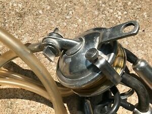 Antique Stainless Milking Equipment Gasket Teat Cups Surge Mini Cup Dairy