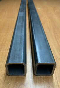 2 pack 1 x1 X48 l Steel Square Tubing 1 16 Thick 16ga Free fast Shipping