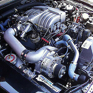 Paxton 1001855 R Real Street Class Tuner Supercharger System 1986 93 Mustang 5 0
