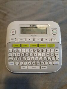 Brother P touch Easy Compact Electronic Label Maker White pt d210