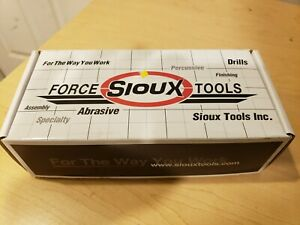 Sioux Tools 1 8 Collet Straight Handle Straight Air Die Grinder 70 000 Rpm