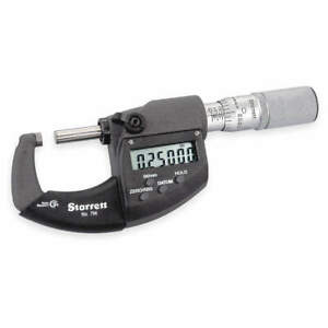 Starrett 796 1xfl 1 Electronic Micrometer 1 In ip67 friction