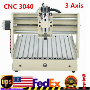 3 Axis Cnc 3040 Router Engraver Wood Pcb Carving Milling Engraving Machine Usa