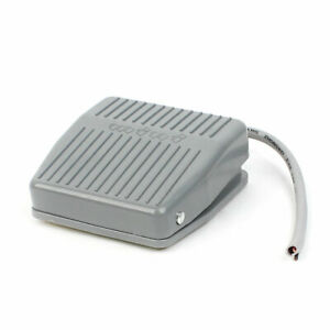 Ac 250v 10a Spdt No Nc Momentary Treadle Foot Pedal Switch Footswitch