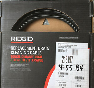 Ridgid C 7 5 8 In X 7 1 2 Ft Tight Wind Cable 62265