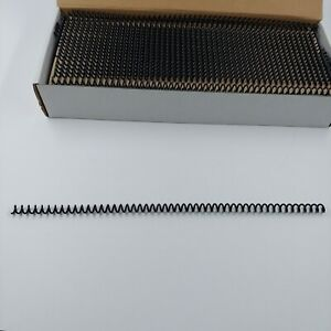 Trubind Binding Spines spirals coils 6mm 1 4 Inches 30 Sheet Capacity 100