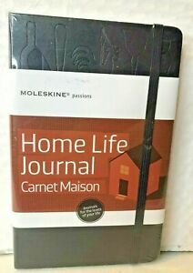 Moleskine Passions Home Life Journal Carnet Maison Book Planner 5 X 8 25 New