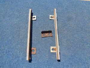 1965 Ford Falcon Station Wagon Tailgate Window Guide Channels Stop 1964