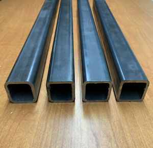 4 pack 1 x1 X96 l 8ft 1 8 Thick Steel Square Tubing 11ga Free fast Ship