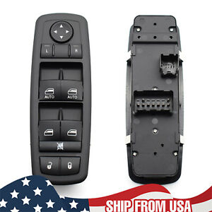 Front Left Master Window Switch For Dodge Grand Caravan Chrysler Town Country
