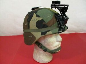 US Army PASGT Ground Troop Helmet made w Kevlar amp; Cover w NVG Bracket X Small #3 $169.99