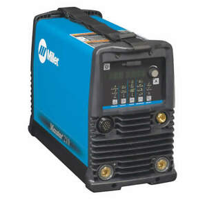 Miller Electric 907684 Tig Welder 26 6a 38 Lb 1 To 210a
