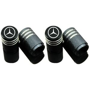 Car Tire Valve Stem Caps Air Cover Wheel Parts Styling Logo For Mercedes Benz