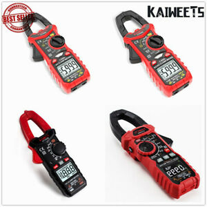 Kaiweets Digital Multimeter Ac Dc Clamp Meter T rms Electrician Test Leads Kit