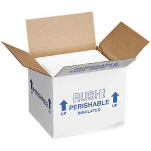 Polar Tech 254c Insulated Shipping Container cardboard