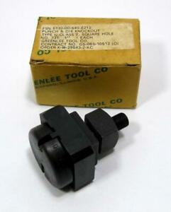 Greenlee 731 Square Hole Radio Chassis Punch 1 Knock Out Die