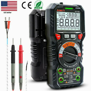 Digital Multimeter Ac Dc Voltage Ammeter Ohmmeter Auto ranging Kaiweets Ht118a